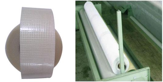 Fiberglass Mesh Tape, Alkali Resistant, Self Adhesive, Heat