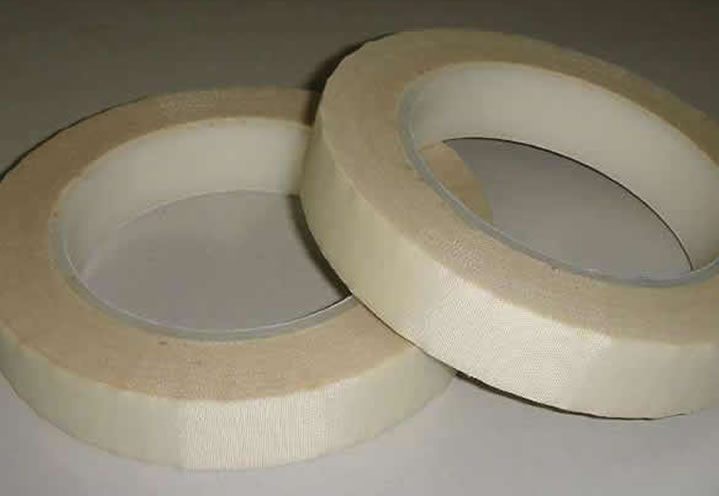 PTFE Teflon glass cloth tape high insulation tape with silicone adhesive.